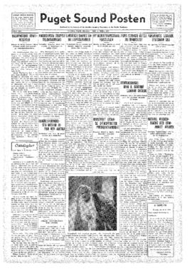 Puget Sound Posten- v.41 no.11 Mar 11, 1932