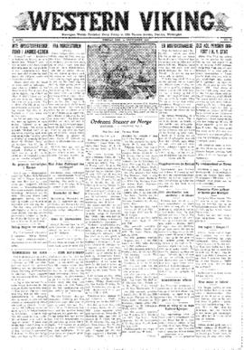 Western Viking v. 2 no. 38 Sep 19, 1930