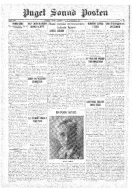 Puget Sound Posten- v.40 no.48 Nov 27, 1931