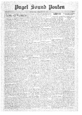 Puget Sound Posten- v.39 no.27 Jul 4, 1930