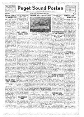 Puget Sound Posten- v.41 no.35 Aug 26, 1932