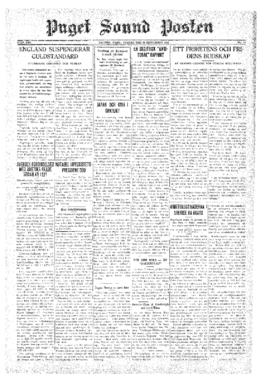 Puget Sound Posten- v.40 no.39 Sep 25, 1931