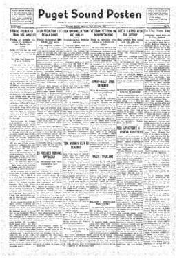 Puget Sound Posten- v.41 no.18 Apr 29, 1932