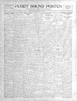 Puget Sound Posten- v. 5 no.175 Apr 1, 1909