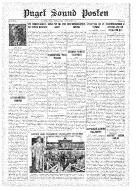 Puget Sound Posten- v.40 no.45 Nov 6, 1931