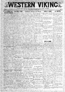 Western Viking v. 2 no. 35 Aug 29, 1930