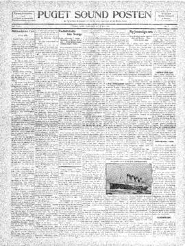 Puget Sound Posten- v. 5 no.183 May 27, 1909