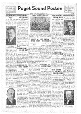 Puget Sound Posten- v.41 no.30 Jul 22, 1932