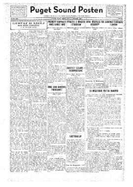 Puget Sound Posten- v.41 no.43 Oct 21, 1932
