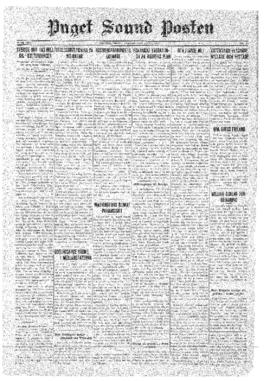 Puget Sound Posten- v.40 no.27 Jul 3, 1931