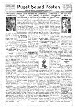 Puget Sound Posten- v.41 no.32 Aug 5, 1932