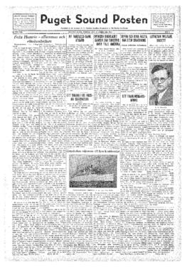 Puget Sound Posten- v.41 no. 8 Feb 19, 1932