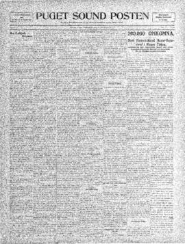 Puget Sound Posten- v. 4 no.162 Dec 31, 1908