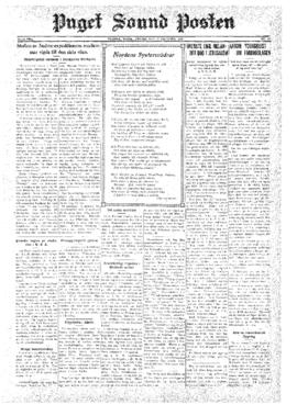 Puget Sound Posten- v.39 no.42 Oct 17, 1930