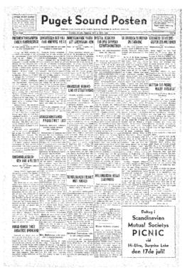 Puget Sound Posten- v.41 no.29 Jul 15, 1932