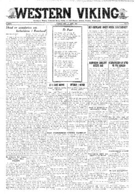 Western Viking v. 3 no. 24 Jun 12, 1931