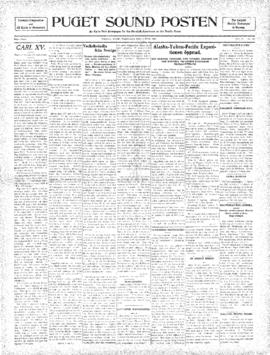 Puget Sound Posten- v. 5 no.184 Jun 3, 1909