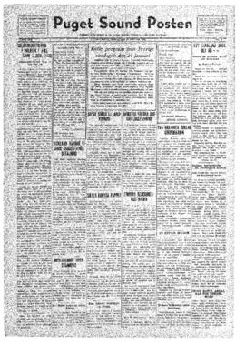 Puget Sound Posten- v.41 no. 4 Jan 22, 1932