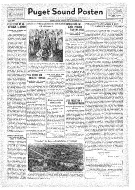 Puget Sound Posten- v.41 no.48 Nov 25, 1932