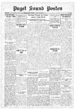 Puget Sound Posten- v.40 no.49 Dec 4, 1931
