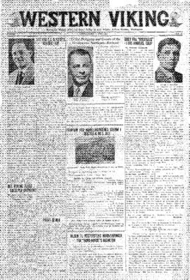 Western Viking v. 3 no. 27 Jul 3, 1931