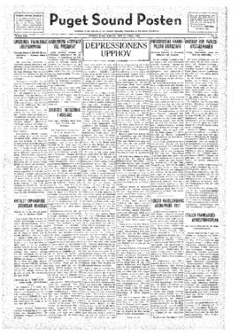 Puget Sound Posten- v.41 no.16 Apr 15, 1932
