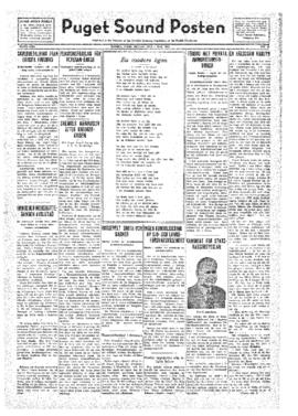 Puget Sound Posten- v.41 no.19 May 6, 1932