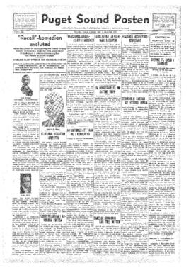 Puget Sound Posten- v.41 no. 5 Jan 29, 1932
