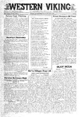 Western Viking v.50 no. 41 Oct 13, 1939