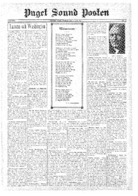 Puget Sound Posten- v.39 no.26 Jun 27, 1930