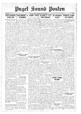 Puget Sound Posten- v.40 no.20 May 15, 1931