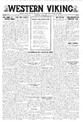 Western Viking v. 3 no. 31 Jul 31, 1931