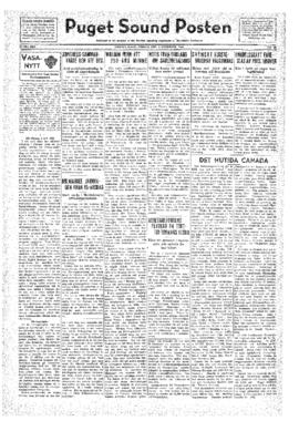 Puget Sound Posten- v.41 no.49 Dec 2, 1932