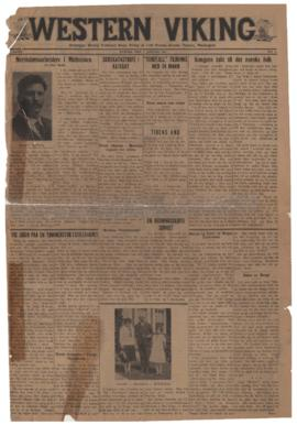 Western Viking v. 3 no. 1 Jan 2, 1931