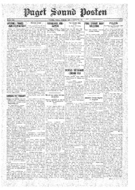 Puget Sound Posten- v.40 no. 6 Feb 6, 1931