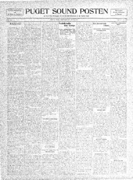 Puget Sound Posten- v. 5 no.190 Jul 15, 1909