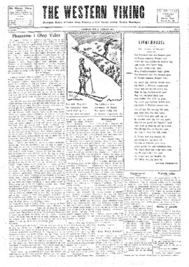 Western Viking v. 2 no. 3 Jan 23, 1930