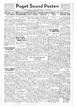 Puget Sound Posten- v.41 no.13 Mar 25, 1932