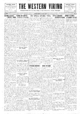 Western Viking v. 2 no. 30 Jul 25, 1930