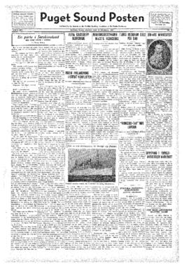Puget Sound Posten- v.41 no.44 Oct 28, 1932