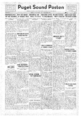 Puget Sound Posten- v.41 no.40 Sep 30, 1932