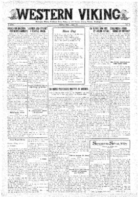 Western Viking v. 3 no. 18 May 1, 1931