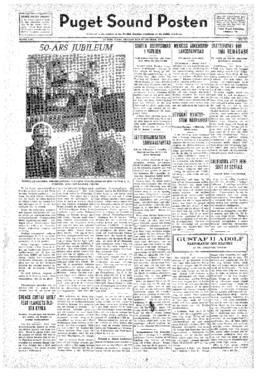 Puget Sound Posten- v.41 no.42 Oct 14, 1932