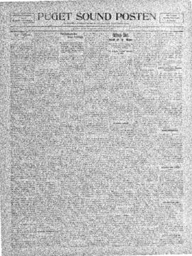 Puget Sound Posten- v. 5 no.176 Apr 8, 1909