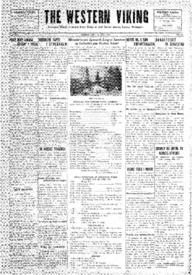 Western Viking v. 2 no. 29 Jul 18, 1930