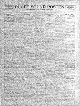 Puget Sound Posten- v. 5 no.179 Apr 29, 1909