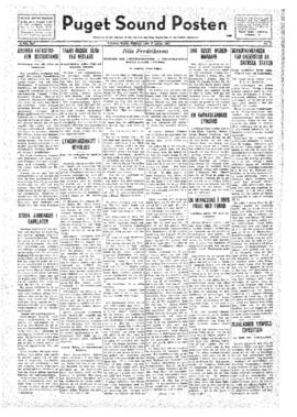 Puget Sound Posten- v.41 no.17 Apr 22, 1932
