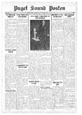 Puget Sound Posten- v.40 no.47 Nov 20, 1931