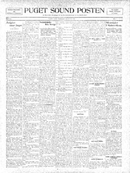 Puget Sound Posten- v. 5 no.181 May 13, 1909