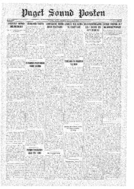 Puget Sound Posten- v.40 no.29 Jul 17, 1931